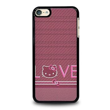 HELLO KITTY VINTAGE iPod Touch 6 Case