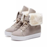 Lindsey Fur Lined Sneakers