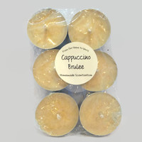 Cappuccino Brulee Soy Tea Lights
