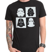Star Wars Imperial Helmets T-Shirt