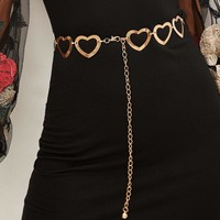 Heart Chain Link Belt