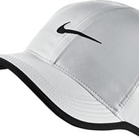 Nike Mens Feather Lite 2.0 Adjustable Hat White/Black 679421-100