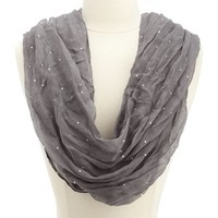 Disco Dot Infinity Scarf: Charlotte Russe