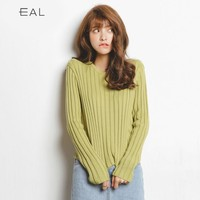 Winter Women's Fashion Korean Knit Long Sleeve Tops [9022792647]