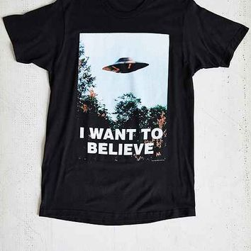 The X-Files I Want To Believe Tee