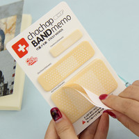 1pc Personalized Scratchpad Cute Band Aid Series Memo Pad Sticky Notes Paper Notepad Guest Article Stationery Office