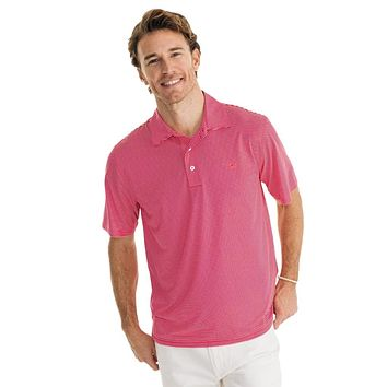 Driver Striped Brrr Performance Polo by Southern Tide