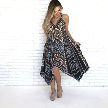 Getting All Your Love Print Maxi