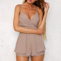 Feel The Same Playsuit Stone
