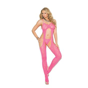 Elegant Moments Susp. Bodystocking W/ G-String