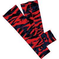 Digital ripped red and blue camo arm sleeve  (No Refunds - No Exchanges)
