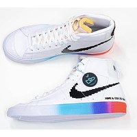 "Nike Blazer Mid '77 Vintage ""Have A Good Game"" canvas high-top sneakers shoes"