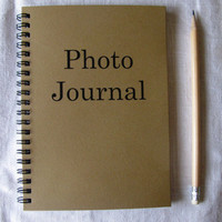 Photo Journal - 5 x 7 journal