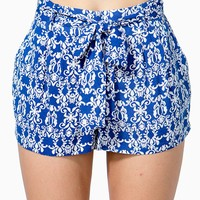 Soft Ethnic Print Short