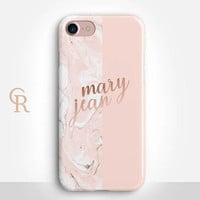 Personalised Name Phone Case For iPhone 8 iPhone 8 Plus iPhone X Phone 7 Plus iPhone 6 iPhone 6S  iPhone SE Samsung S8 iPhone 5 Custom Case