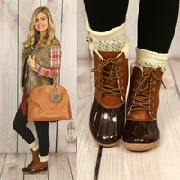 Not Your Daddy's Duck Boots
