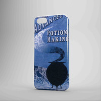 Harry Potter Potion Making Book iPhone Case Galaxy Case 3D Case
