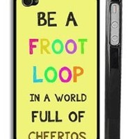 Froot Loops and Cheerios iPhone 4 Case - Trendy Cute iPhone 4s Case - USA Made