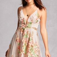 Selfie Leslie Floral Tulle Dress