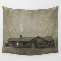 Late Night  Wall Tapestry by Terry Fan