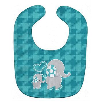Mommy and Baby Elephant Baby Bib BB6834BIB