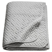 King/Queen Quilted Bedspread - Grey - Home All | H&M US