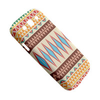 Geometric Aztec Pattern Samsung Galaxy S3 Case Samsung Galaxy S3 Cover Samsung Galaxy S III S3 Hard Cover Case