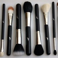 Amazon.com: Makeup Brush Set Complete All 11 Essential Brushes with Pouch Professional Desig...
