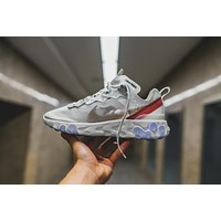 Nike Upcoming React Element 87 ¡°White¡± Running Shoes AQ1090-100