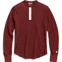 Rochester Henley in Rustic Red