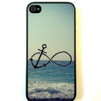 Infinity Anchor iPhone 5 Case - For iPhone 5/5G - Designer TPU Case Verizon AT&T Sprint