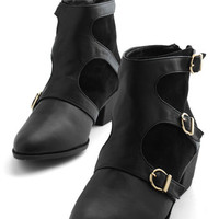 ModCloth Vocal Point Bootie