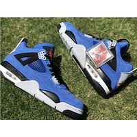 Air Jordan 4 Retro AJ4 Eminem X Encore Basketball Shoes 41--47