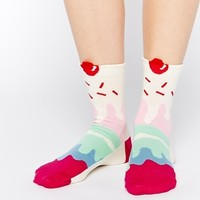 ASOS Ankle Socks 3D Ice Cream Sundae