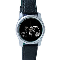 Adi And Ryan Art Illustration Wrist Watch