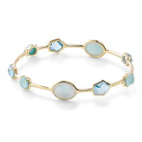 New! Rock Candy® 18K Gold Multi-Stone Bangle