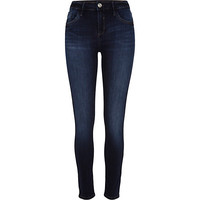 River Island Womens Dark rinse Amelie superskinny reform jeans