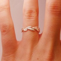 Grass Seed Ring | BRIKA - A Well-Crafted Life