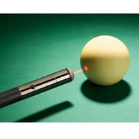 The Laser Guided Pool Cue - Hammacher Schlemmer