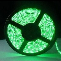 VeeCome SMD3528 Green 5m IP65 Waterproof 300 LED Flexible LED strip lights ,Decorated Lights for weddings,Christmas parties, bars,clubs and house gardens.