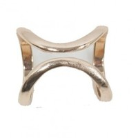 S.I.N.N Double Cage Ring in Gold - SinnStyle.com