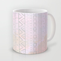 Tribal Pastel Watercolor  Mug by Sunkissed Laughter