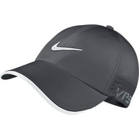 Nike Tour Adult Unisex Perforated Golf Cap VRS-RZN, Grey/Black
