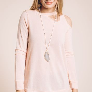 Unchanged Top in Light Pink