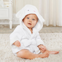 Love You Lamb Hooded Spa Robe