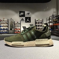 Best Sale Adidas NMD R1 Mastermind Japan Olive Green