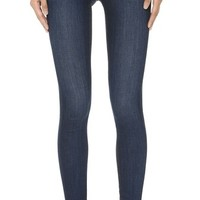 Icon Mid Rise Skinny Ankle Jeans