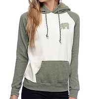 The elephant stamp mosaic Hoodie female