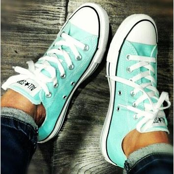 Converse Fashion Canvas Flats Sneakers Sport Shoes-10
