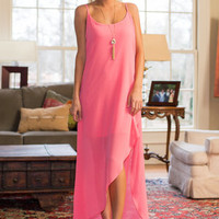 The Gabby Dress, Coral